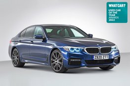 Used Car of the Year 2022 - BMW 530e with badge