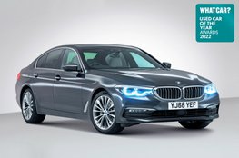 Used Car of the Year 2022 - BMW 5 Series with badge