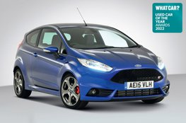 Used Car of the Year 2022 - Ford Fiesta ST with badge