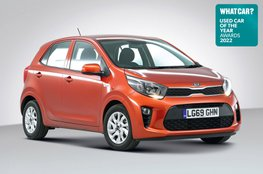 Used Car of the Year 2022 - Kia Picanto with badge