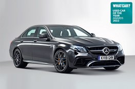 Used Car of the Year 2022 - Mercedes-AMG E63 with badge