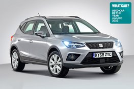 Used Car of the Year 2022 - Seat Arona with badge