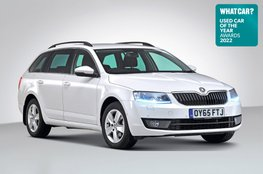 Used Car of the Year 2022 - Skoda Octavia Estate with badge