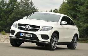 Used Mercedes-Benz GLE Coupe 15-present