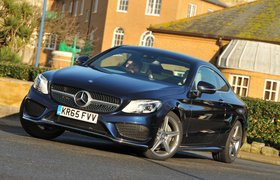 Used Mercedes-Benz C-Class Coupe 16-present
