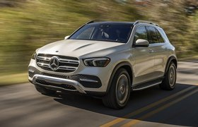 Mercedes GLE front