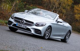 Mercedes-Benz S Class Cabriolet 2019 front left tracking shot