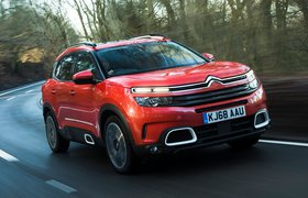 Citroen C5 Aircross 2019 front cornering shot