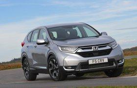 Honda CR-V 2019 Front right tracking shot