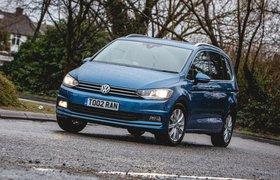 Volkswagen Touran 2019 front cornering shot