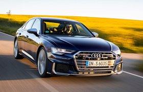 2019 Audi S6 TDI front