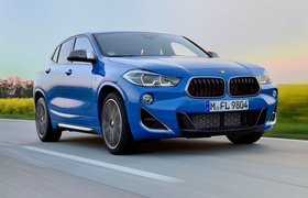 BMW X2 M35i 2019 LHD front right tracking
