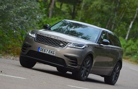 Land Rover Range Rover Velar 2017 front cornering