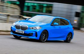 BMW 1 Series long-term front tracking 2