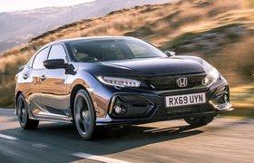 Honda Civic Hatchback 2019 front tracking RHD