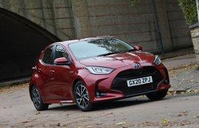 Toyota Yaris 2020 Front 3/4 cornering