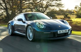 Porsche 911 2021 front tracking