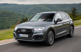 Audi SQ5 2019 front left tracking