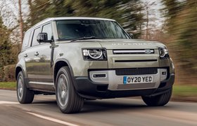 Land Rover Defender 2020 RHD front tracking