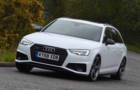 2018 Audi A4 Avant front three-quarter