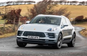 2019 Porsche Macan RHD front three quarter
