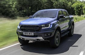 Ford Ranger Raptor 2019 RHD front tracking