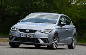 Seat Ibiza 2018 UK cornering shot