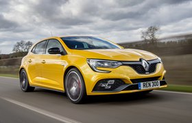 Renault Megane RS front tracking