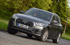Audi Q5 front left cornering shot