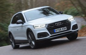 Audi Q5 front right cornering shot