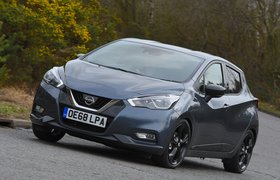Nissan Micra 2019 front left tracking