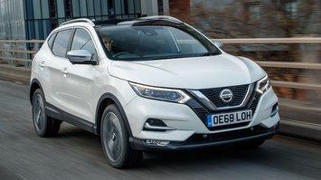 2019 Nissan Qashqai front three-quarter driving
