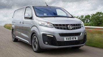 Vauxhall Vivaro front