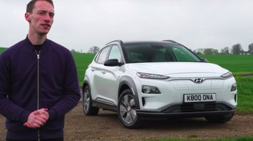 Doug Revolta with Hyundai Kona Electric