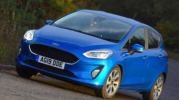 Ford Fiesta 2019 front tracking