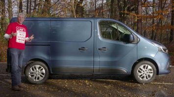 Renault Trafic van review by Edd China