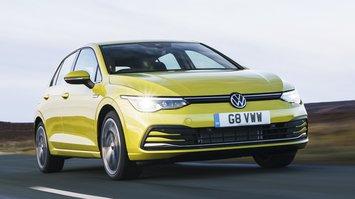 Volkswagen Golf Mk8 front tracking