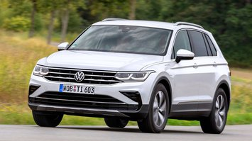 Volkswagen Tiguan 2020 front tracking