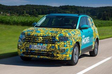 2018 Volkswagen T-Cross exclusive Reader Test Team preview