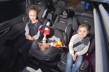 Best Cars For Three Child Seats What Car