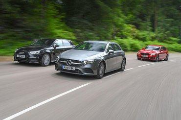 New Mercedes-Benz A-Class vs Audi A3 Sportback vs BMW 1 Series