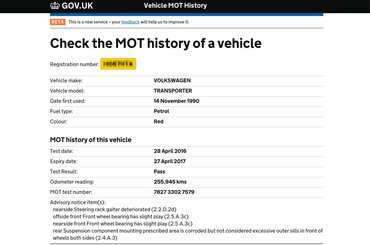 How to find your car's service history