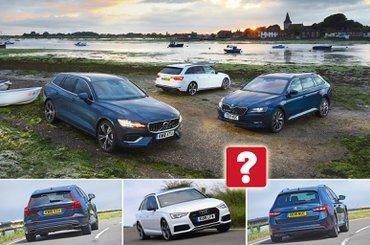 New Volvo V60 vs Audi A4 Avant vs Skoda Superb Estate