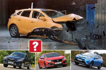 Volvo V40 crash test