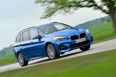 BMW 2 Series Gran Tourer front