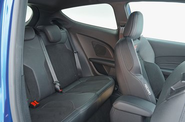 2018 Ford Fiesta ST rear seats