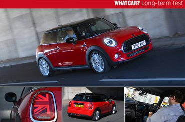 Mini hatchback long-term test car