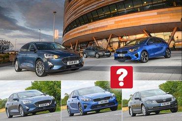 Ford Focus vs Kia Ceed vs Skoda Octavia