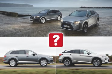 Used Audi Q7 vs Lexus RX