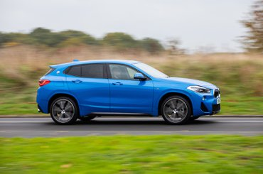 2018 BMW X2 20i on the road